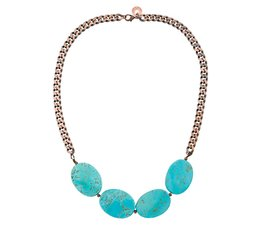 TURQUOISE ROOTS ketting