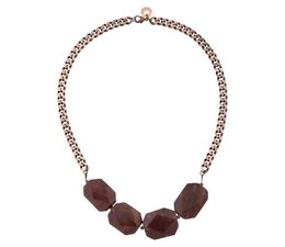 PURPLE ROOTS necklace