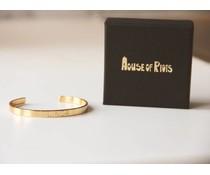 PERSONAL * LOVE bracelet gold