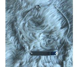 PERSONAL * BAR bracelet silver