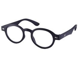 Dokters leesbril in mat zwart