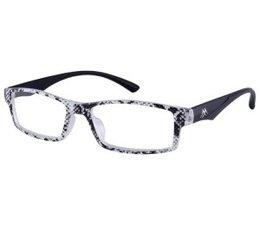 Stijlvolle dames leesbril in zwart, grijs en wit