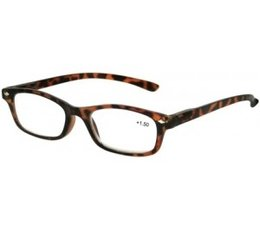 Trendy leesbril in havanna bruin