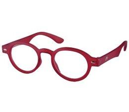 Dokters leesbril in rood
