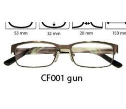 Computer/beeldschermbril en tevens leesbril