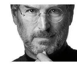 Leesbril Steve Jobs, rond, randloos en tijdloos