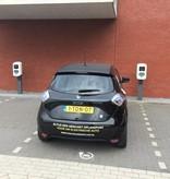 Parkeer tegel met E-logo