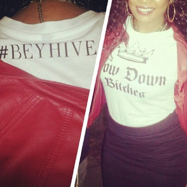 BOW DOWN BITCHES TEE (WMN)