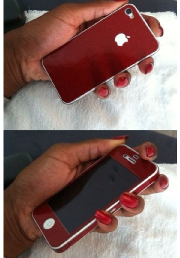 DIAMOND COLORSKIN RED