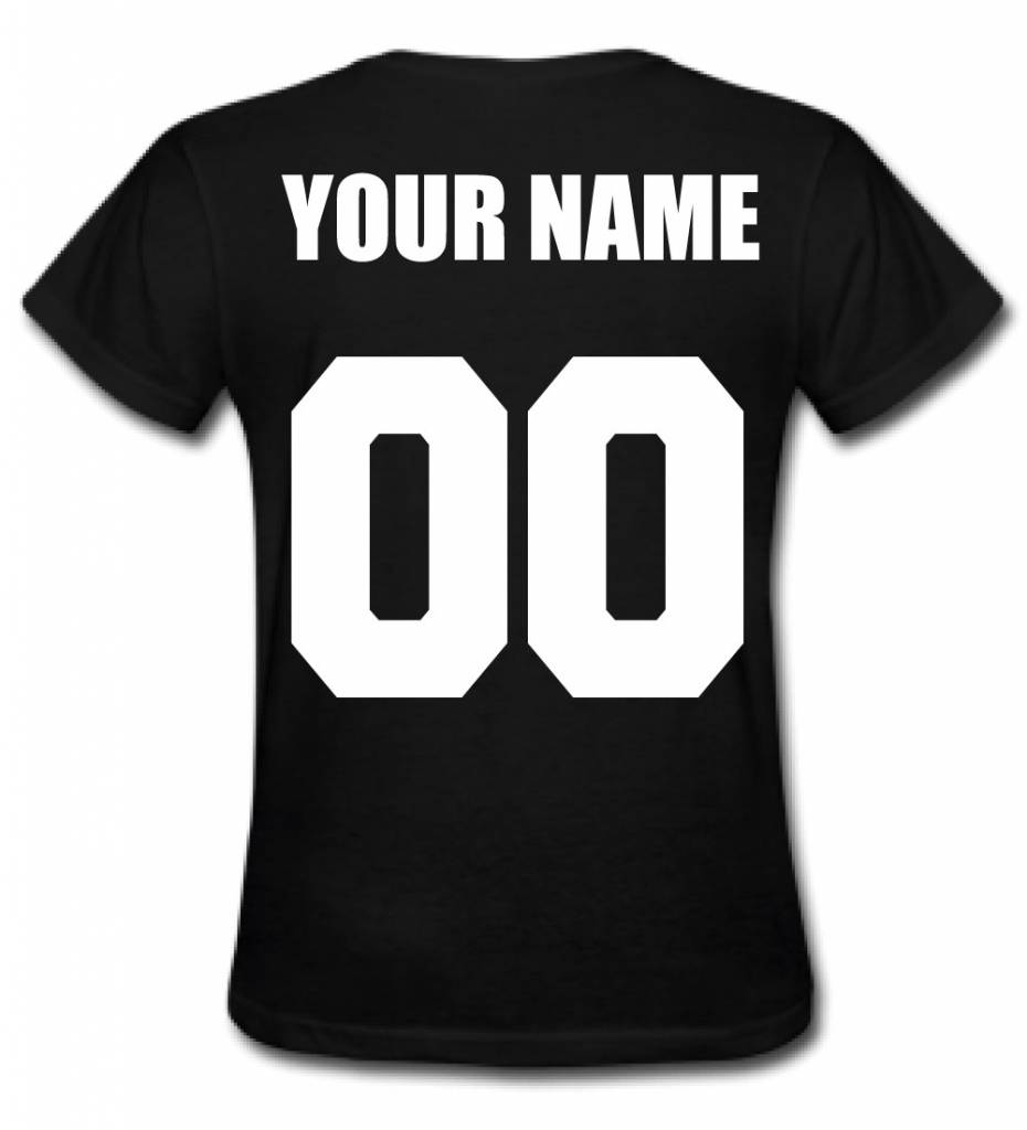 CUSTOM TEAM NUMBER TEE (WMN)