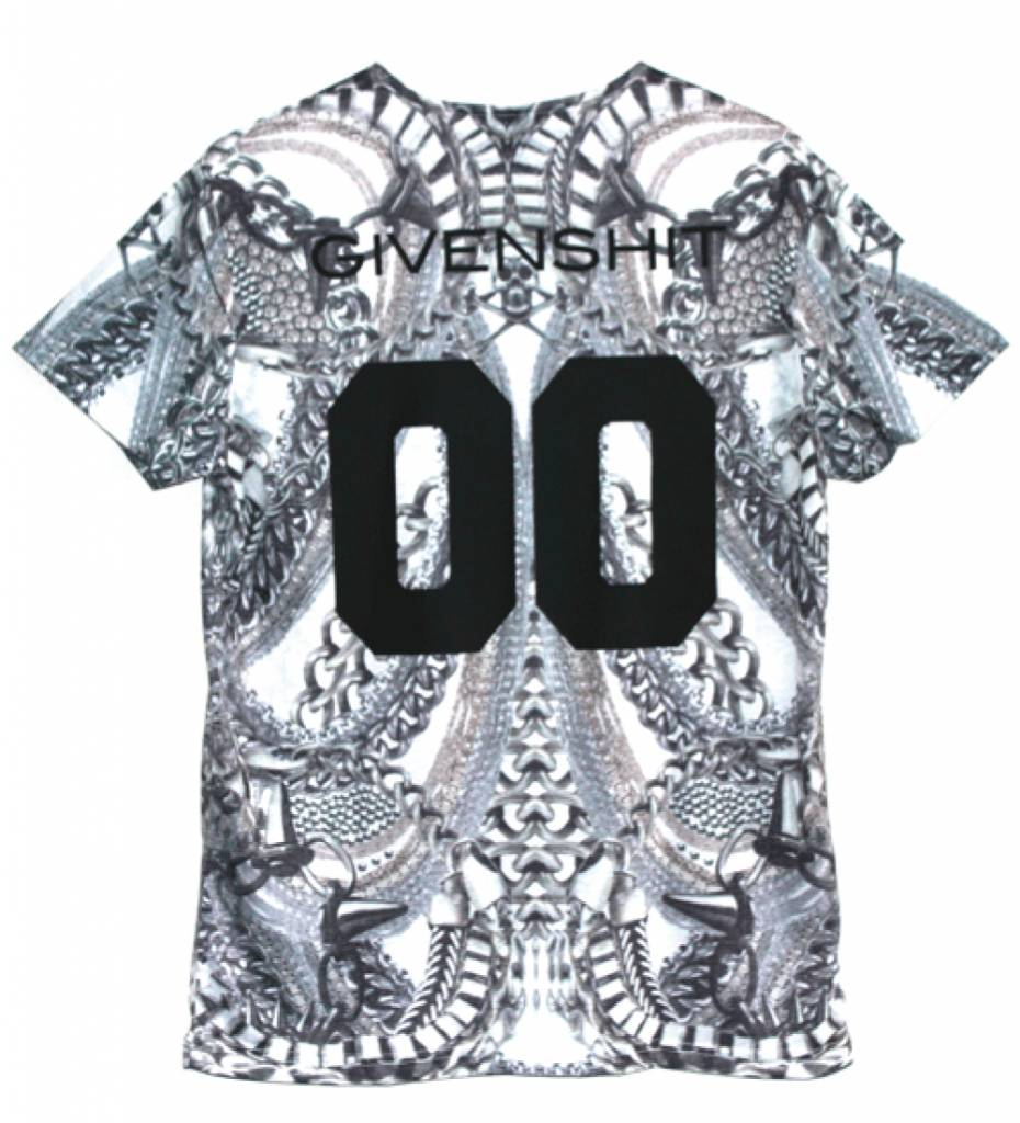 GIVENSHIT PRINTED TEE (MEN)