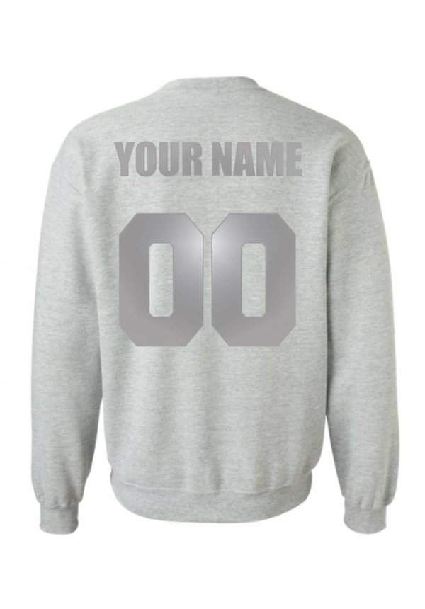 CUSTOM TEAM NUMBER SWEATER SILVER EDITION (MEN)