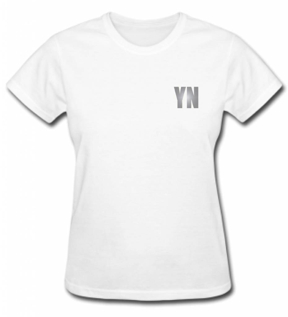 CUSTOM TEAM NUMBER TEE SILVER EDITION (WMN)