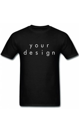 DESIGN YOUR OWN TEE (MEN)