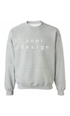 DESIGN YOUR OWN SWEATER (MEN)