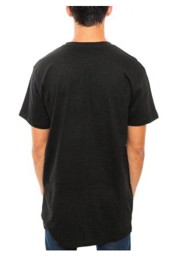 BASIC LONG TEE BLACK (MEN)