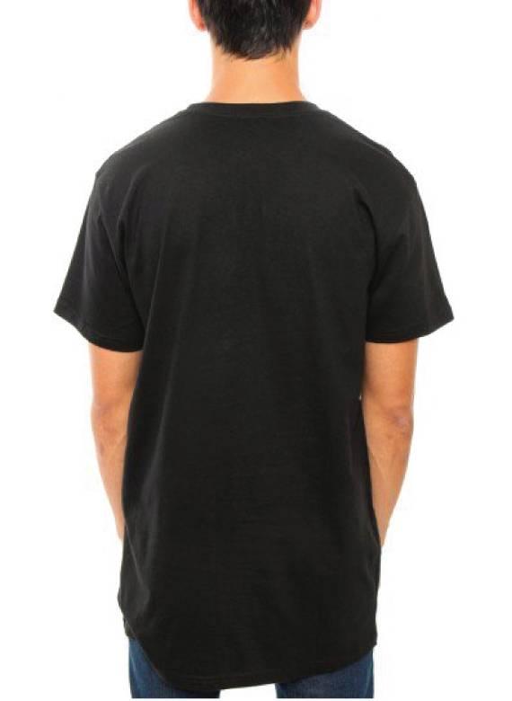 BASIC LONG TEE BLACK (MEN)