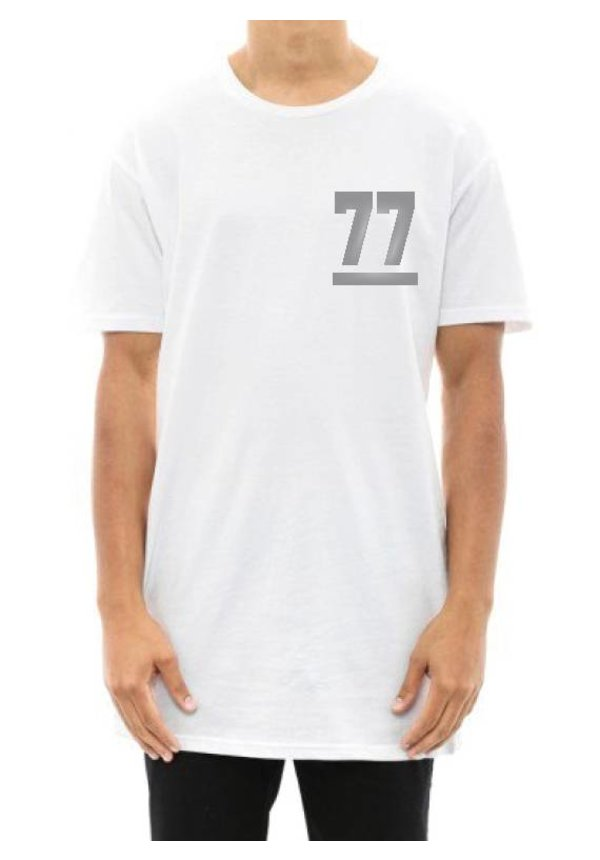 CUSTOM TEAM NUMBER LONG TEE SILVER EDITION (UNISEX)
