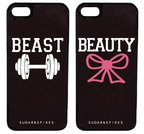 BEAUTY & BEAST COUPLE CASES