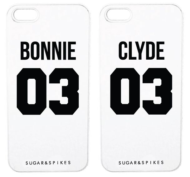 BONNIE & CLYDE COUPLE CASES