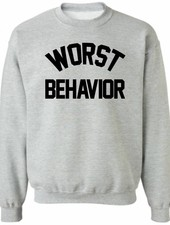 WORST BEHAVIOR SWEATER (MEN)