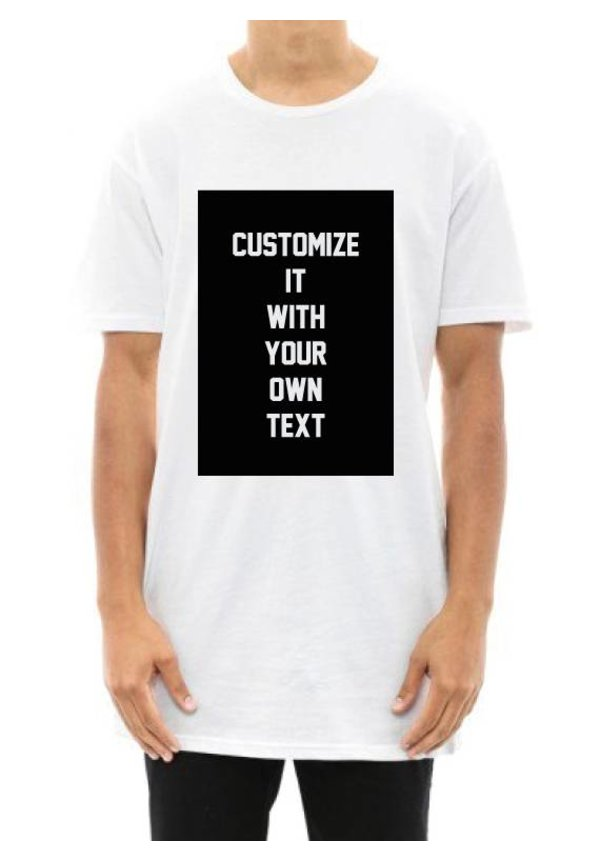 CUSTOM BLOCK LONG TEE (UNISEX)