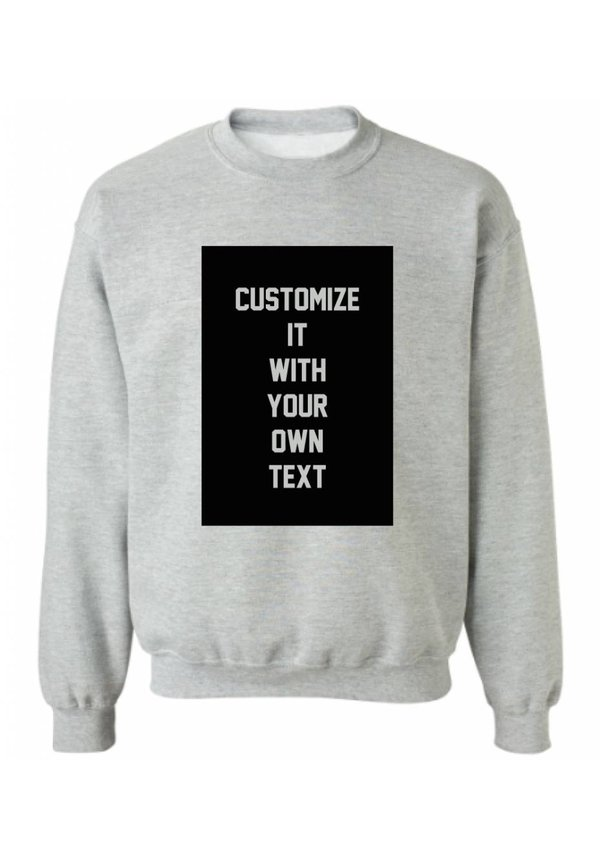 CUSTOM BLOCK SWEATER (MEN)