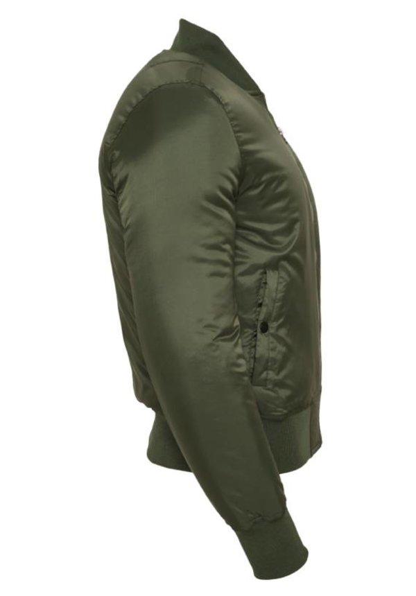 BASIC BOMBER JKT OLIVE (MEN)