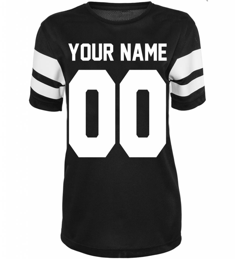 CUSTOM TEAM NUMBER MESH TEE (WMN)