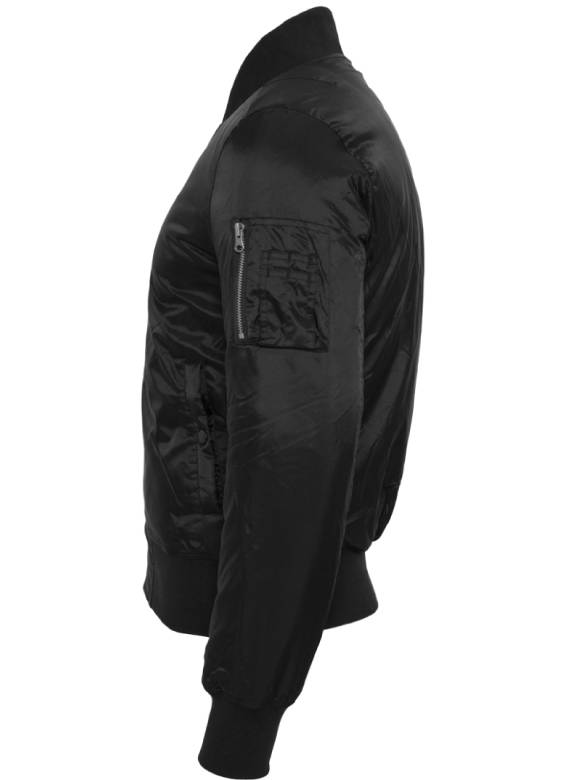 CUSTOM TEAM NUMBER BOMBER JKT ALL BLACK EDITION (MEN)