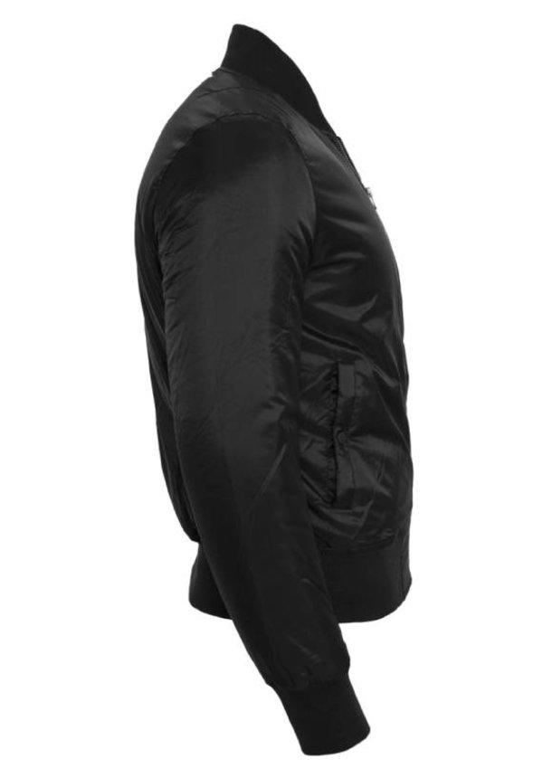 CUSTOM TEAM NUMBER BOMBER JKT ALL BLACK EDITION (MEN)