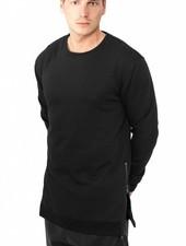 SIDE ZIP LONG SWEATER BLACK (MEN)