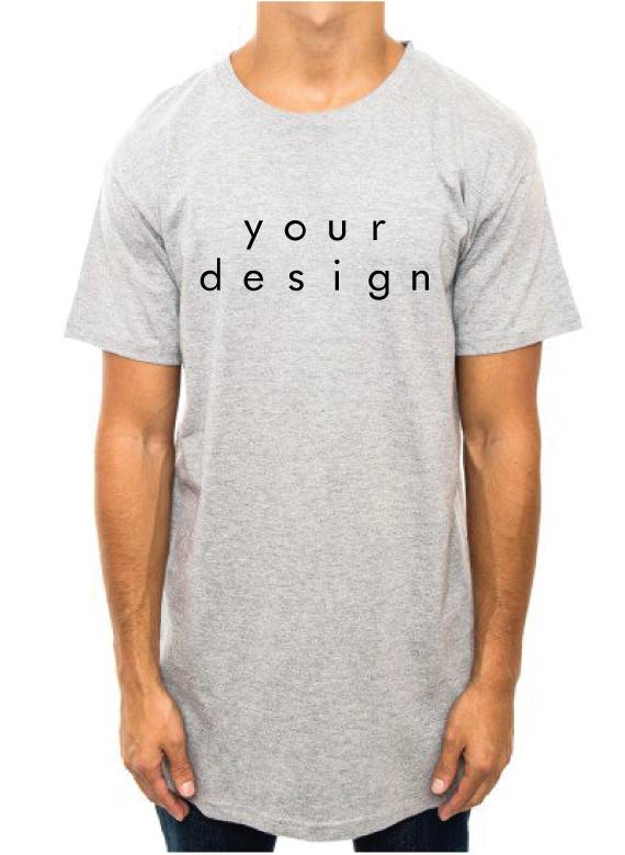 DESIGN YOUR OWN LONG TEE (UNISEX)