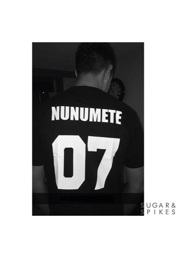 CUSTOM TEAM NUMBER TEE (MEN)