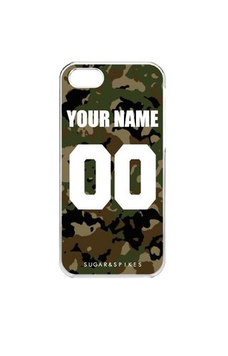 CUSTOM TEAM NUMBER CASE ARMY EDITION