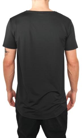 BASIC NEOPRENE LONG TEE BLACK (MEN)
