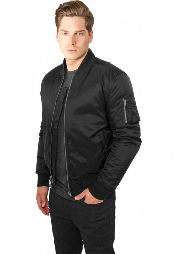 BASIC BOMBER JKT BLACK (MEN)