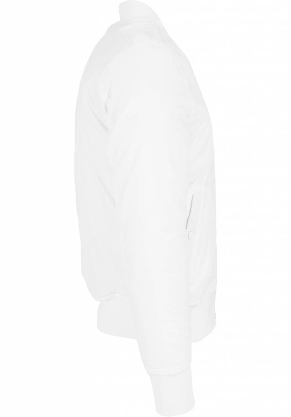 BASIC BOMBER JKT WHITE (MEN)