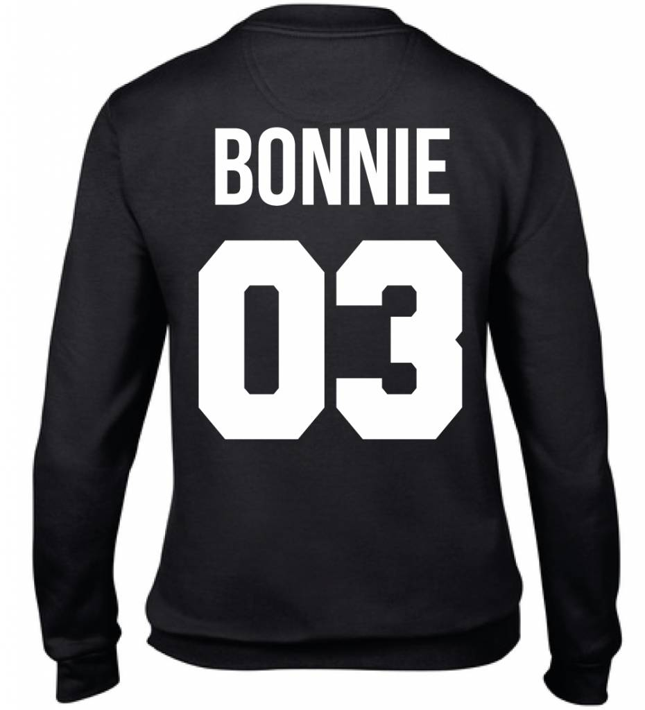 BONNIE & CLYDE COUPLE SWEATERS