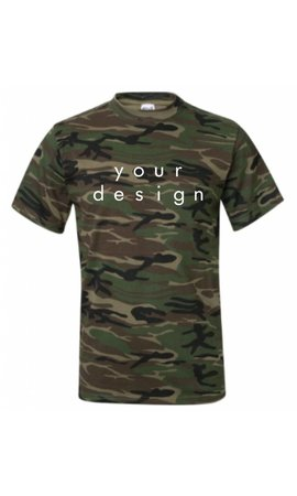 DESIGN YOUR OWN ARMY TEE (MEN)