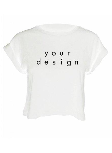 DESIGN YOUR OWN CROP TOP (WMN)