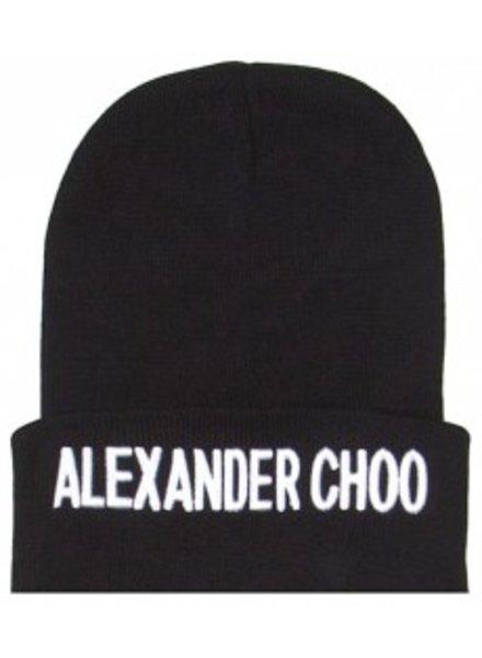 SIXTH JUNE ALEXANDER CHOO BEANIE BLACK