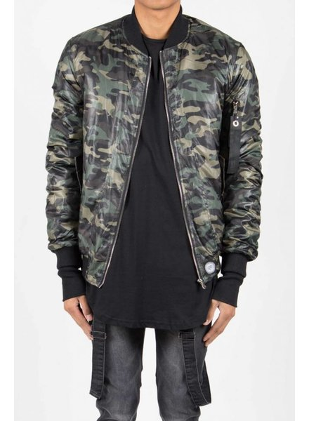 SIXTH JUNE ARMY BOMBER JACKET (MEN)