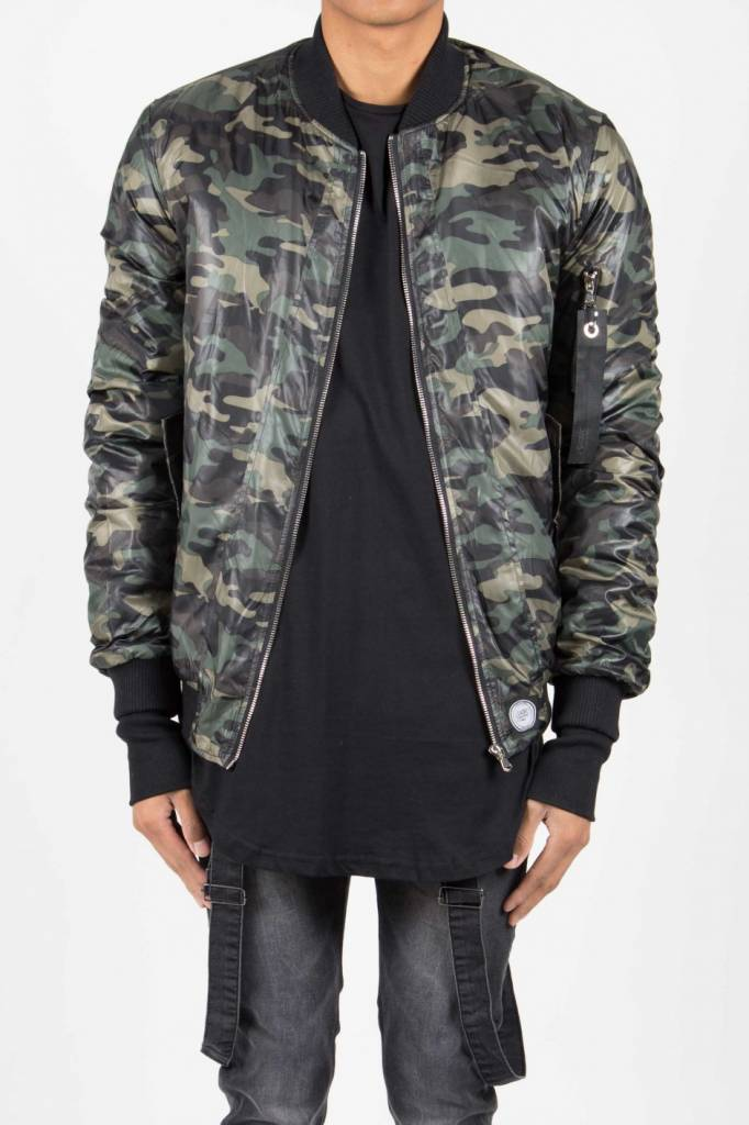 SIXTH JUNE ARMY BOMBER JACKET (MEN) - SUGAR&spikes