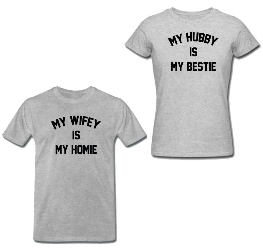 BESTIE HOMIE COUPLE TEES