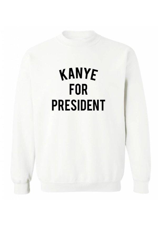 KANYE FOR PRESIDENT SWEATER (MEN)