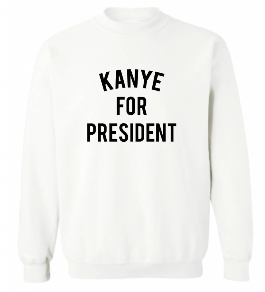 KANYE FOR PRESIDENT SWEATER (MEN)