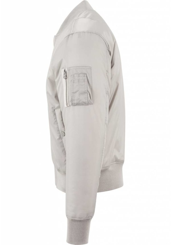 BASIC BOMBER JKT GREY (WMN)
