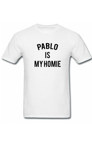PABLO IS MY HOMIE TEE (MEN)