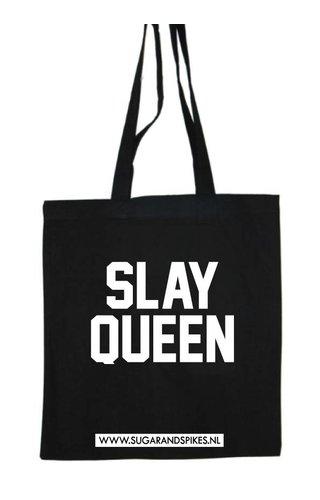 QUEEN B - SLAY QUEEN COTTON BAG